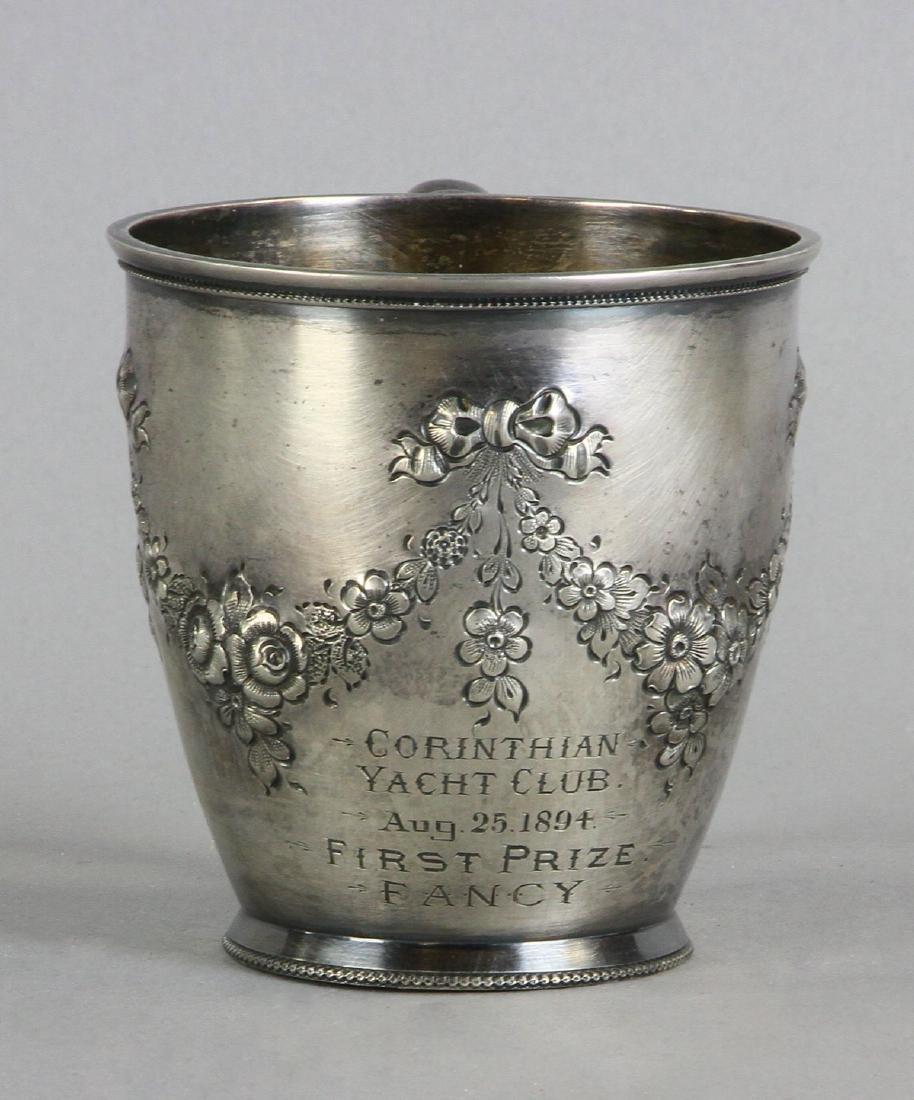 Sterling Corinthian Yacht Club Trophy Cup