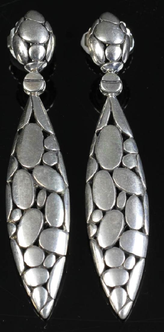 John Hardy Sterling Silver Earrings