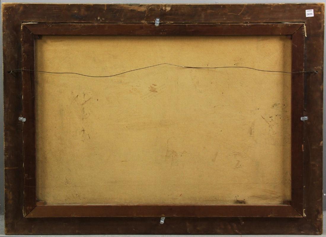 River Landscape, Oil on Canvas, Signed - 7
