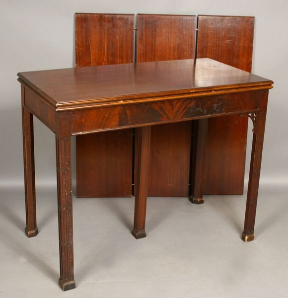 2007: Early 20th Century Chippendale Dining Table