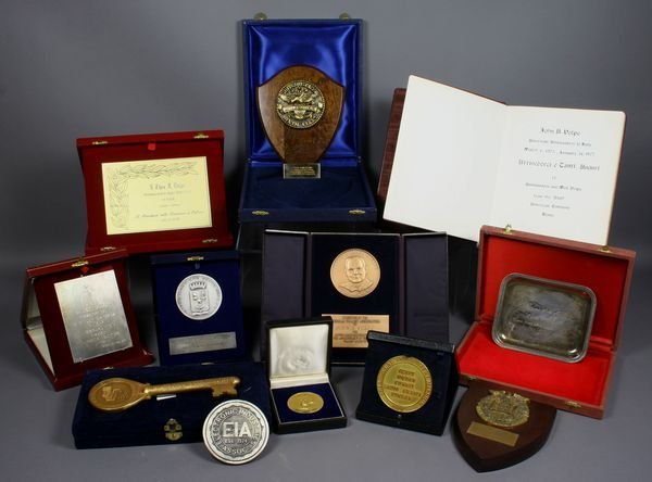 2014: Collection of Medals from Governor Volpe