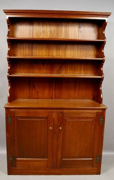 2015: 19th C. Country Pine Cupboard