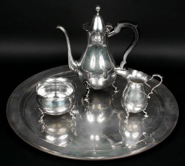 2023: Tiffany & Co. Sterling Tea Set, Engraved