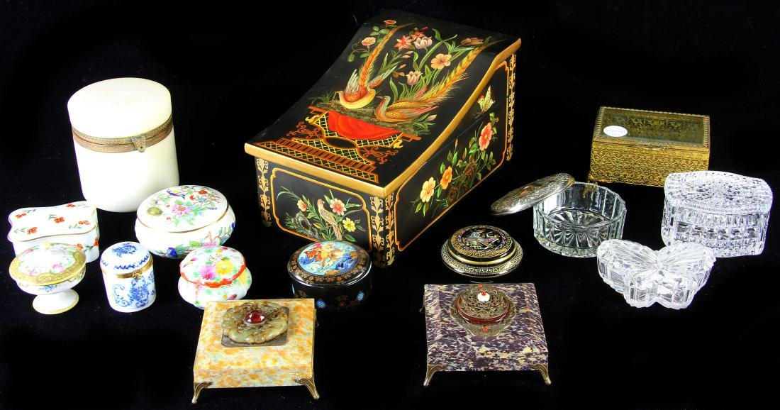 Collection of Decorative Boxes