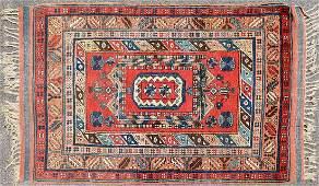 Semi Antique Caucasian Kazak Rug