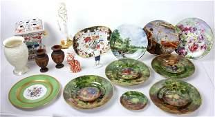 Collection of Decorative Porcelains