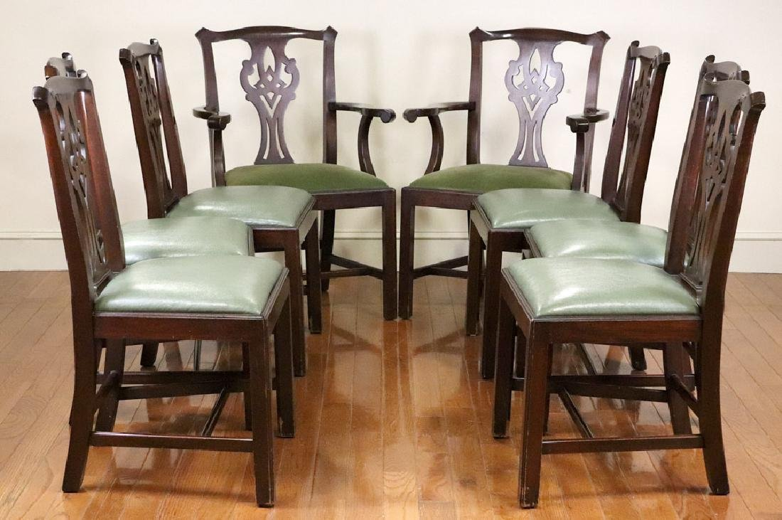 Set of Henkel Harris Mahogany Dining Chairs