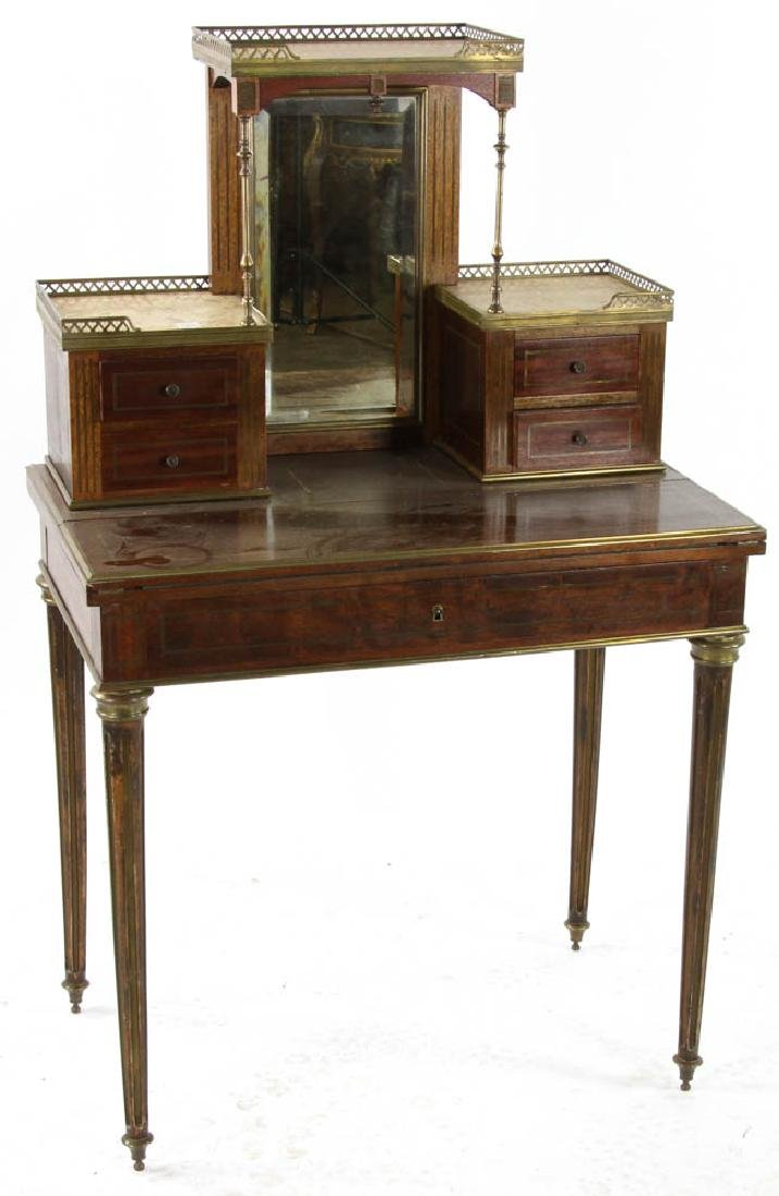 Louis XVI Style Mahogany Ladies Desk