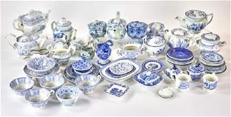 19thC Staffordshire Miniature Tableware