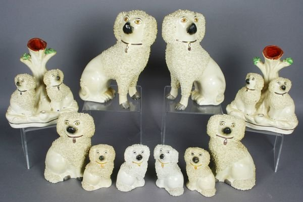3003: (10) Staffordshire Dogs