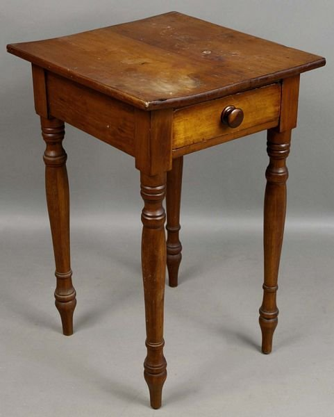 3014: 19th C. Country Maple Stand