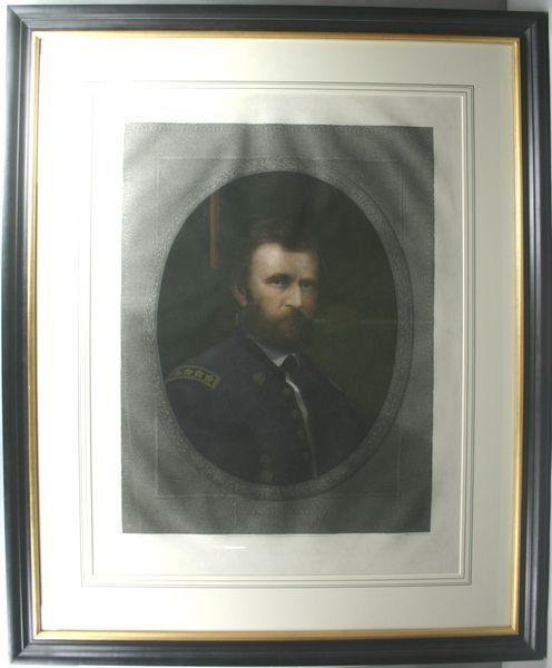 3109: MARSHALL, U.S. GRANT, ENGRAVING W/HC, C.1868
