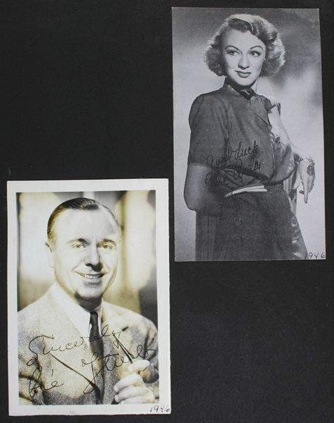 3133: (74) Photos of 1940s/50s/60s Movie Celebrities - 9