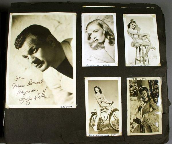3133: (74) Photos of 1940s/50s/60s Movie Celebrities - 2