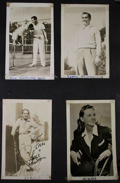 3133: (74) Photos of 1940s/50s/60s Movie Celebrities - 5