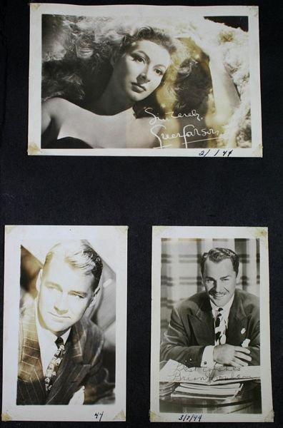 3133: (74) Photos of 1940s/50s/60s Movie Celebrities - 6