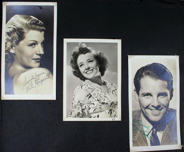 3133: (74) Photos of 1940s/50s/60s Movie Celebrities - 7