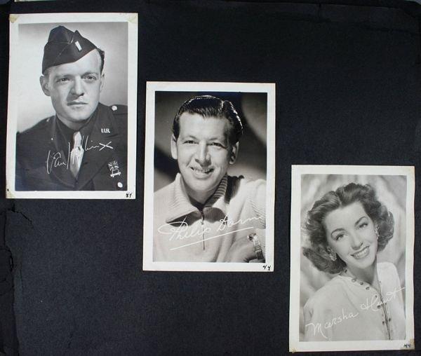 3133: (74) Photos of 1940s/50s/60s Movie Celebrities - 8