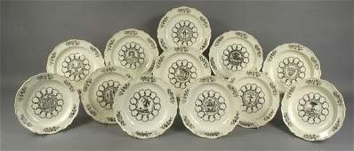 3179: Wedgewood Plates from Williamsburg Colonies