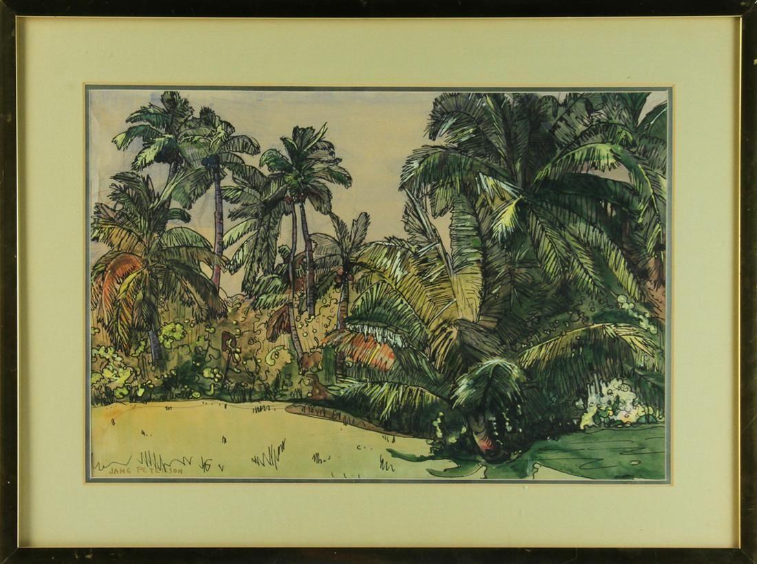 Peterson, Florida's Paradise, Watercolor