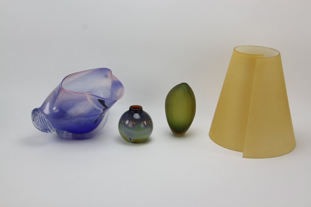 Collection of Art Glass, Italian and Salamandra