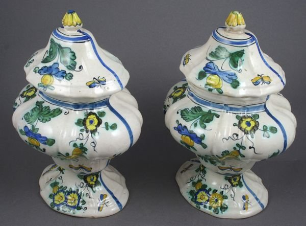 4020: Collection of Two (2) 19th/20th Century Majolica