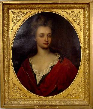 SIR PETER LELY PORTRAIT OF LADY SUNDERFORD O/C
