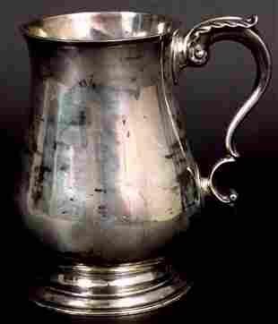 CA 1760 JOSEPH RICHARDSON PHILADELPHIA SILVER MUG