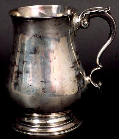 5: CA 1760 JOSEPH RICHARDSON PHILADELPHIA SILVER MUG