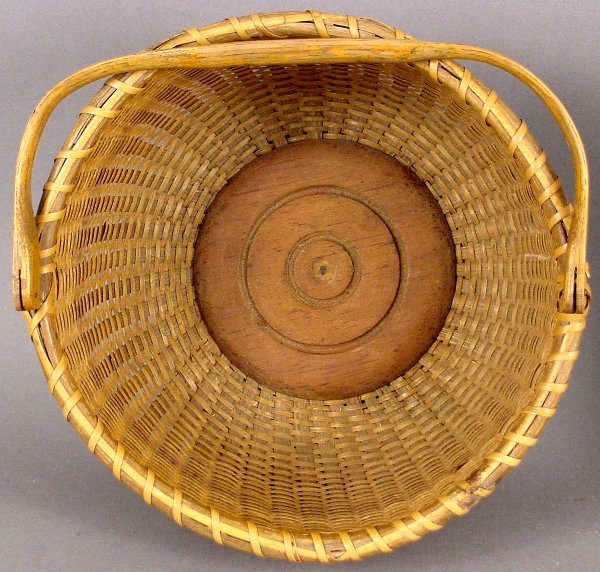 9: EARLY SWING HANDLED NANTUCKET BASKET - 2
