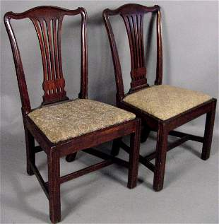 18TH C. PHILADELPHIA CHIPPENDALE DINING CHAIRS