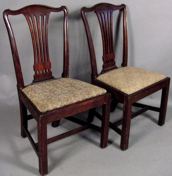 16: 18TH C. PHILADELPHIA CHIPPENDALE DINING CHAIRS