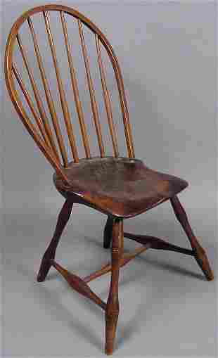19TH CENTURY WINDSOR CHAIR STAMPED PRATT