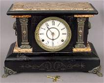 324 SETH THOMAS MANTLE CLOCK CIRCA 1880
