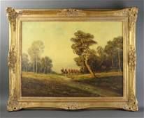 Otto Eduard van Pippel, Oil on Canvas
