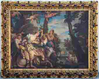 18/19thC Painting Veronese Ratto di Europa