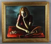 George Benjamin Luks, Oil on Canvas