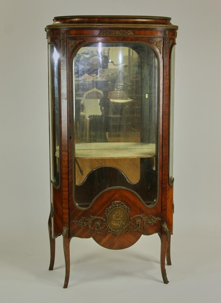 19thC French Curio Cabinet