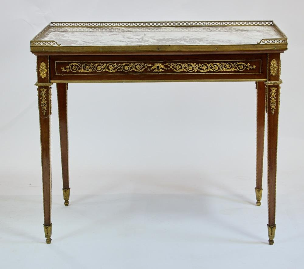 19thC French Library Table