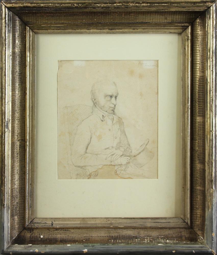 Jean Auguste Dominique Ingres, Study of Dr. Thomas