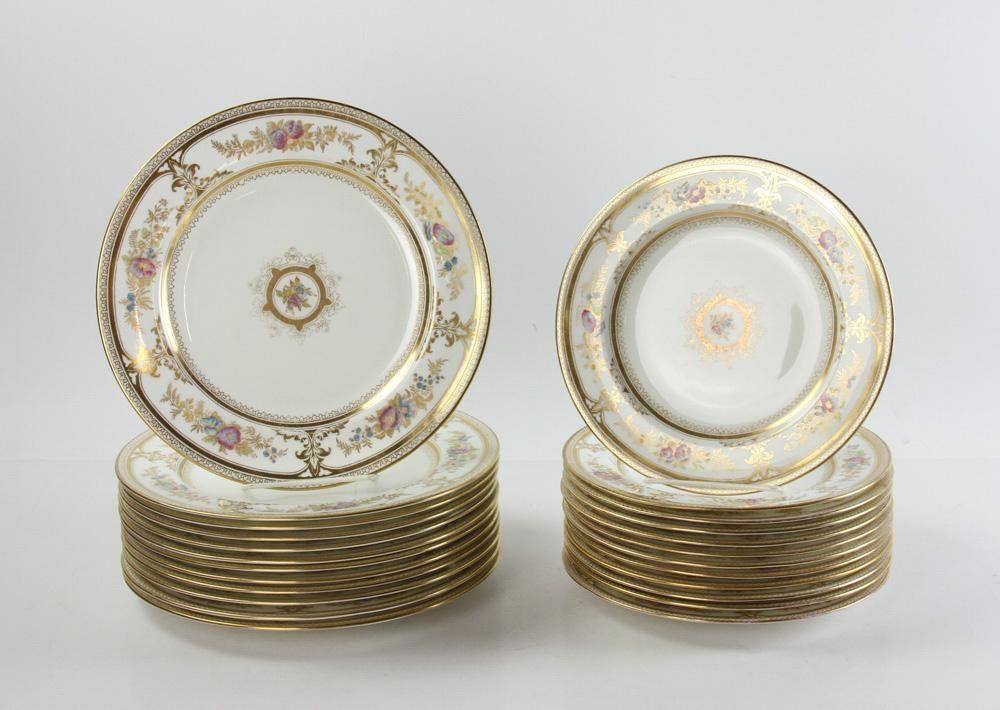 Wedgwood Porcelain Plates Havelock Pattern