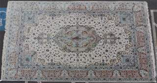 Exceptionally Fine Persian Tabriz Hand Woven Rug