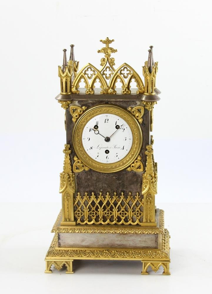19thC French Clock, Dial Marked Lepaute