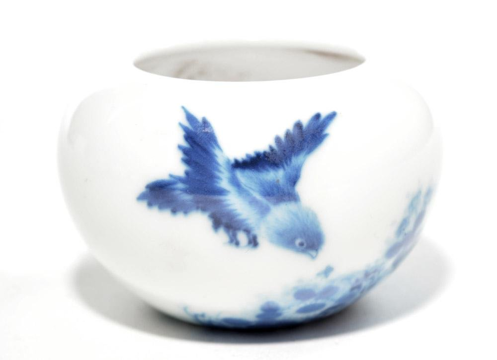 Very Fine Chinese Blue and White Porcelain Pot