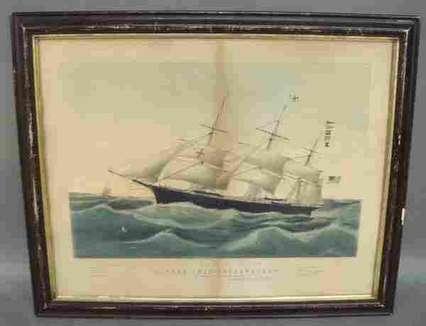 """1037: 19th N. Currier, """"Clipper Shit Dreadnought"""