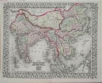 """1414: """"Map of Hindoostan, Farther India, China, and Tib"""