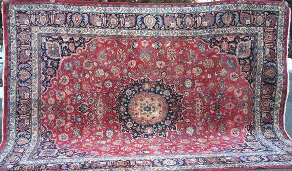 """1: Exceptional Persian Rug, 13' x 9' 10""""."""