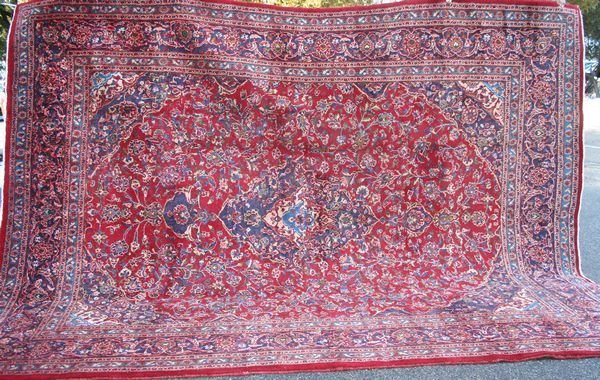 "2: Fine Persian Rug, 12' 7"" x 9' 8""."