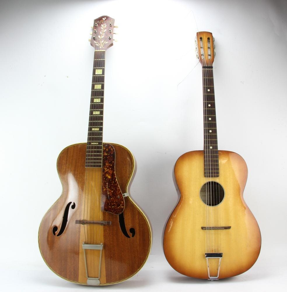 Harmony Patrician and Crucianelli Italian Guitars