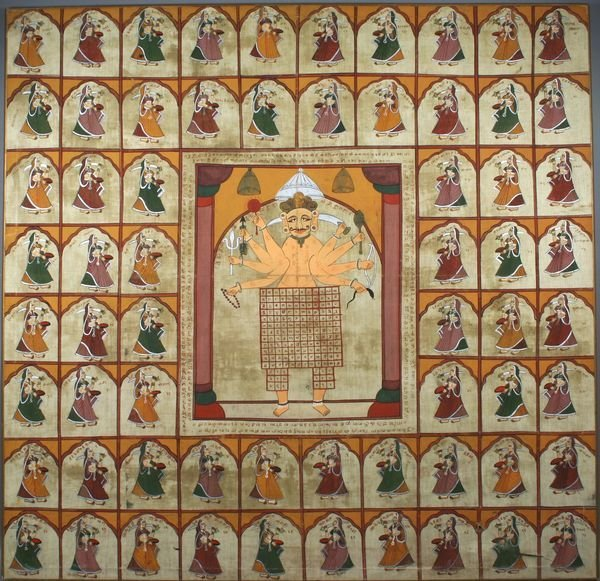 2023: Early 20th Century Indian Painting on Cloth